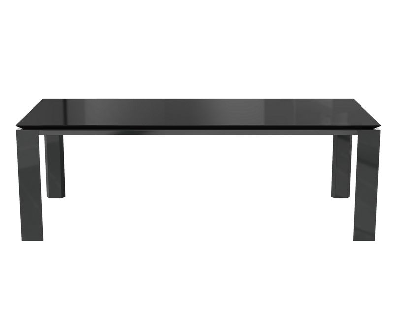 Table de séjour Munich - Gris anthracite - L2000 x P1000 x H750 mm